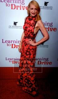 PATRICIA CLARKSON at NY Premiere of ''Learning to Drive'' at Paris Theatre 4 W.58st 8-17-2015 John Barrett/Globe Photos 2015