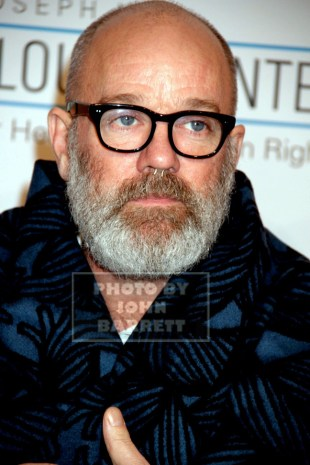 MICHAEL STIPE at 14th Annual Elton John Aids Foundation Enduring Vision Benefit at Cipriani Wall St 11-2-2015 John Barrett/Globe Photos 2015