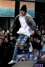JUSTIN BIEBER on NBC ''Today''live at the Plaza Citi Concert Series at Rockefeller Plaza 11-18-2015 John Barrett/Globe Photos 2015