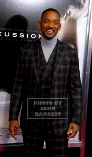 WILL SMITH at Screening of''Concussion'' at AMC Loews Lincoln Square 12-16-2015 John Barrett/Globe Photos 2015