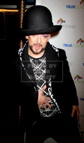 BOY GEORGE Cyndi Lauper's True Colors fund host its 5th annual ''Home for the Holidays'' concert at the Beacon Theatre 12-5-2015 John Barrett/Globe 2015