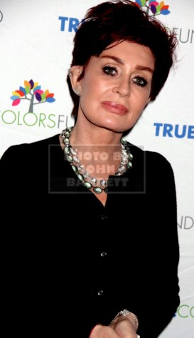 SHARON OSBOURNE Cyndi Lauper's True Colors fund host its 5th annual ''Home for the Holidays'' concert at the Beacon Theatre 12-5-2015 John Barrett/Globe 2015