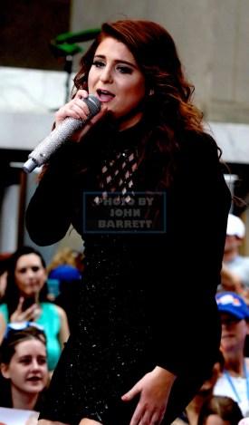 MEGHAN TRAINOR on NBC ''Today show'' Concert series live at the Plaza 6-21-2016 John Barrett/Globe Photos 2016
