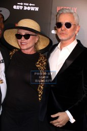 BAZ LUHRMANN,DEBBIE HARRY at NY Premiere of ''The Get Down'' at Lehman Center for the Performing Arts 250 Bedford Park Blvd,Bronx 8-11-2016 Photos by John Barrett/Globe Photos 2016