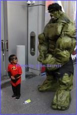 Costume at NY ComicCon at Javits Center W.34st 10-6-2016 John Barrett/Globe Photos 2016