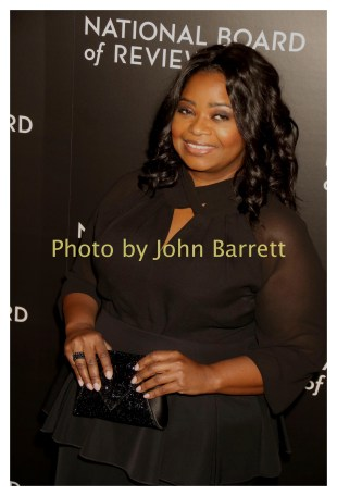 OCTAVIA SPENCER at National Board of Review Gala at Cipriani East 42street 1-4-2017 John Barrett/Globe Photos 2017