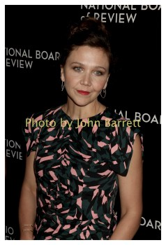 MAGGIE GYLLENHAAL at National Board of Review Gala at Cipriani East 42street 1-4-2017 John Barrett/Globe Photos 2017