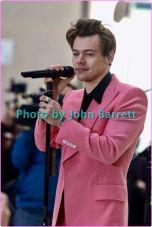 HARRY STYLES performing on NBC ''Today''show at Rockefeller Plaza 5-9-2017 John Barrett/Globe Photos 2017