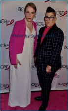 LEA DELARIA,CHELSEA FAIRLESS at Breast cancer research foundation to launch ''Super Nova'' hot pink party at park ave armory 5-12-17 John Barrett/Globe Photos 2017