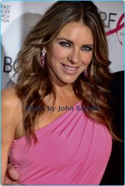 ELIZABETH HURLY at Breast cancer research foundation to launch ''Super Nova'' hot pink party at park ave armory 5-12-17 John Barrett/Globe Photos 2017