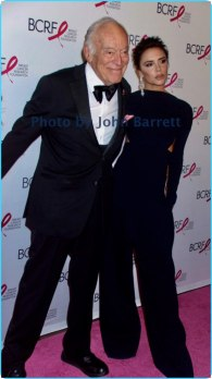 LEONARD LAUDER,VICTORIA BECKMAN at Breast cancer research foundation to launch ''Super Nova'' hot pink party at park ave armory 5-12-17 John Barrett/Globe Photos 2017