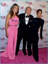 ELIZABETH HURLY,LEONARD LAUDER,VICTORIA BECKMAN at Breast cancer research foundation to launch ''Super Nova'' hot pink party at park ave armory 5-12-17 John Barrett/Globe Photos 2017