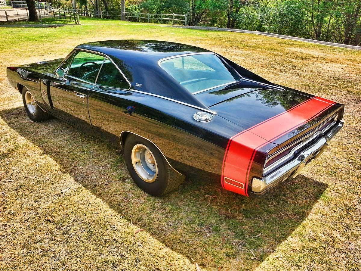 Black Black Charger Dodge 1970