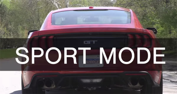 2018 ford mustang gt long tube headers active exhaust sound comparison muscle car