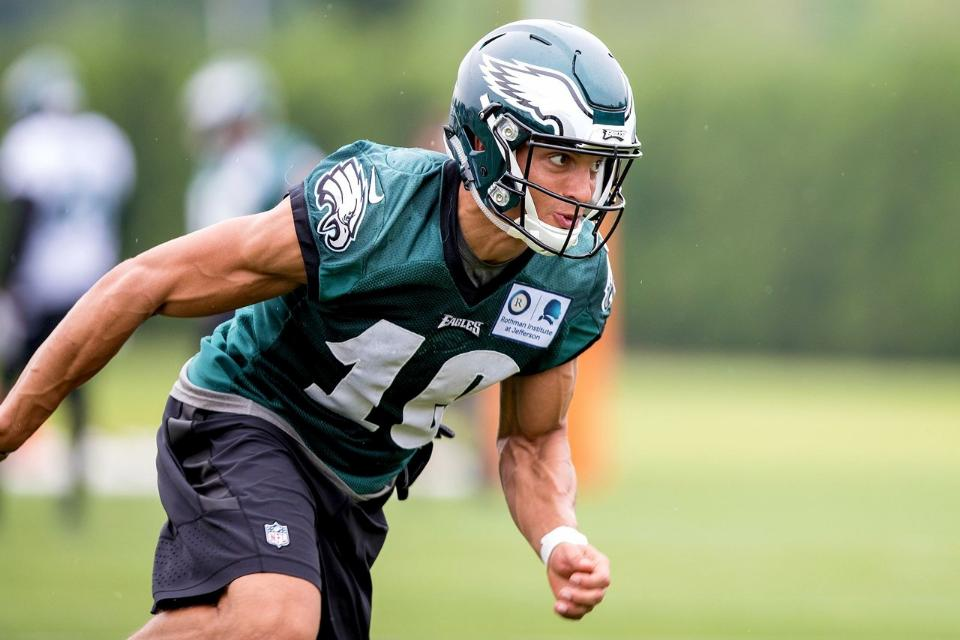 459175929 By Lewis Gould Most of the attention at wide receiver during Eagles OTA s  and mini-camp focused on Alshon Jeffery and Torrey Smith