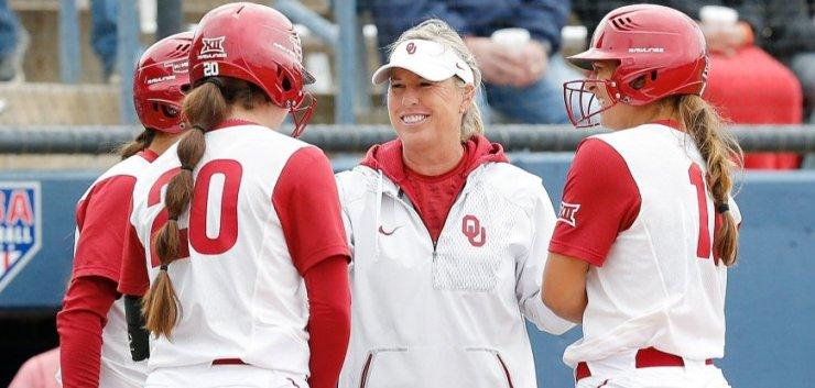 University of Oklahoma Sooners Softball Coach Patty Gasso