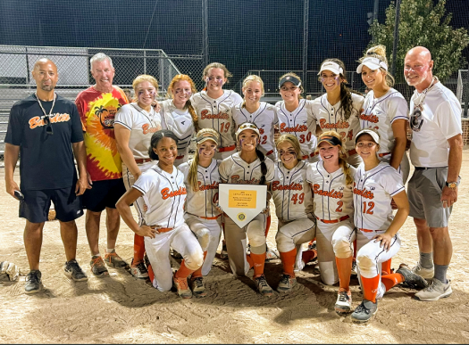 Audrey Lowry with Beverly Bandits Conroy Team