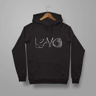 Softball Love - Softball Hoodie