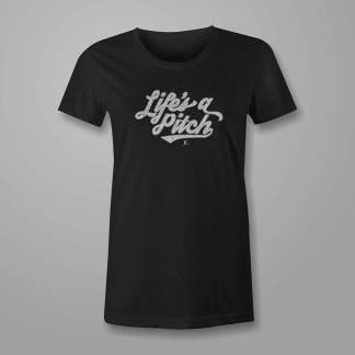 Life's a Pitch! - Fastpitch Tees Softball Tshirt