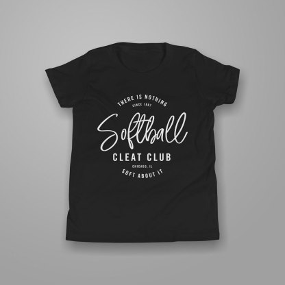 Softball Cleat Club - Softball T-shirt