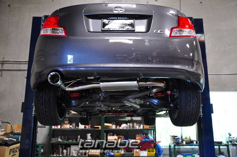 tanabe medalion touring exhaust system scion tc 2011 2016 tc2