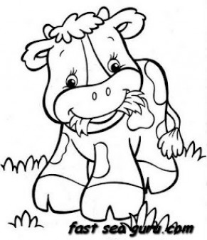 free baby farm animal coloring pages cooloring com