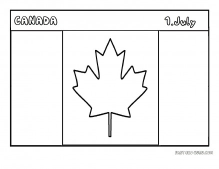 printable flag of canada coloring page printable coloring pages