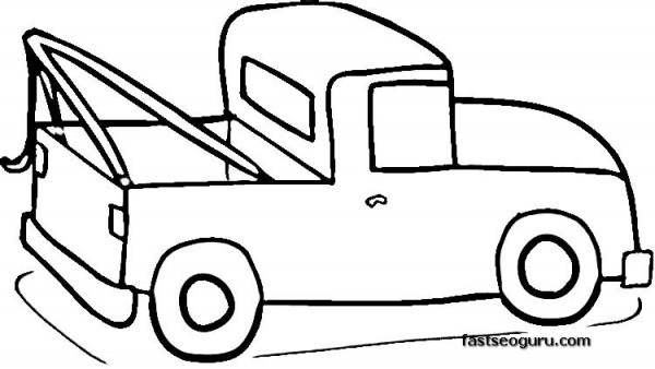 truck coloring pages for print out printable coloring pages for kids