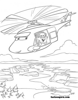 news helicopters tow mater coloring page for kids printable