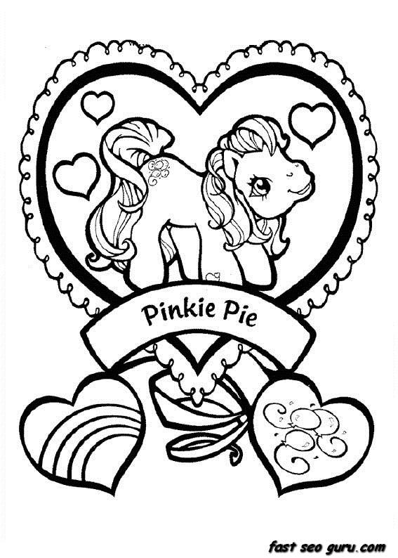 my little pony printable