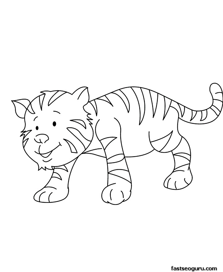 printable animal for kids