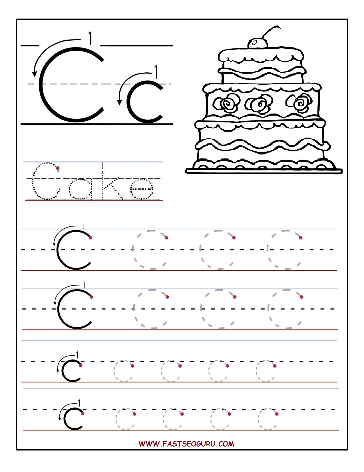 Worksheet For Preschoolers