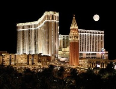 EMC World is being hosted in The Venetian, Las Vegas