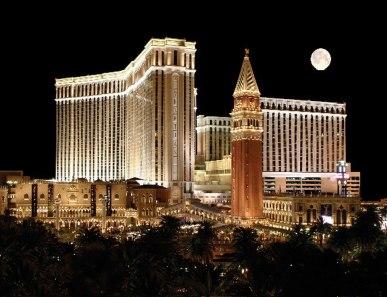 EMC World is being hosted in The Venetian, Las Vegas