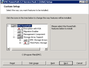 PowerPath Migration Enabler install