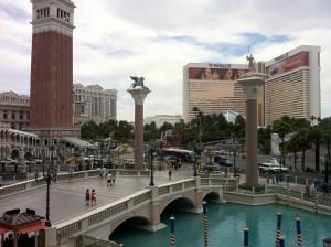 EMC World 2014 Las Vegas Strip