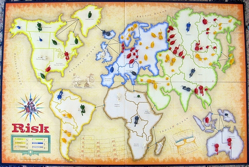 Storage Field Day 6 - Risk board game