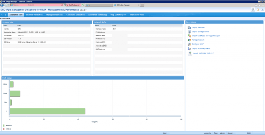 Unisphere for VMAX vApp Manager