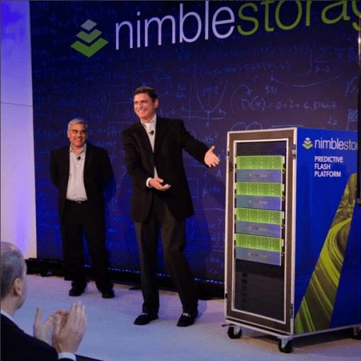 Nimble Storage CEO unveiling the predictive flash platform