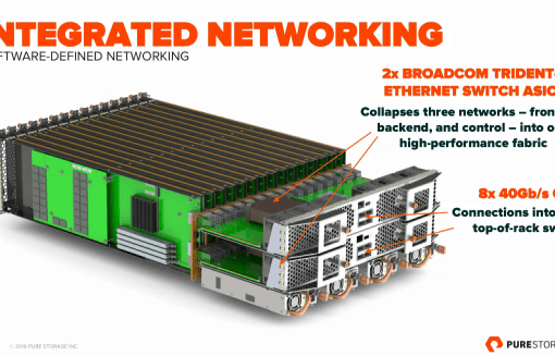 Pure Storage 2 Integrated Networking