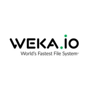 WekaIO file system logo