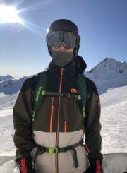 Jon on Snowboard