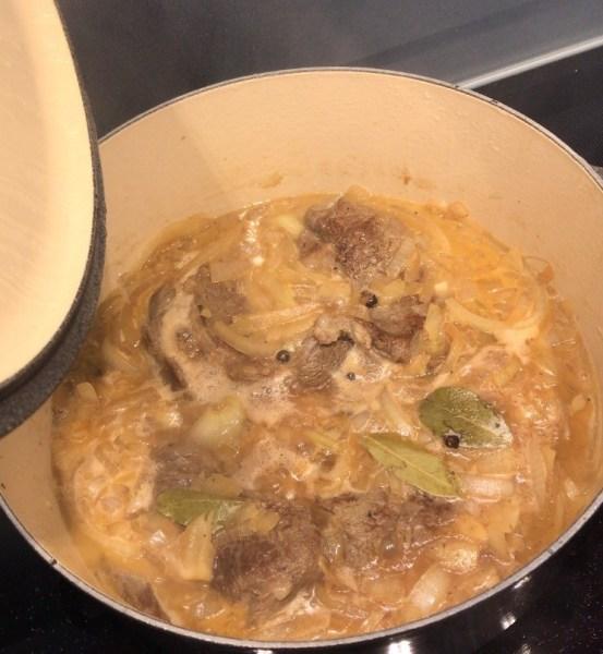 limburgs zoervleisj pre-stew