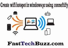 WiFi Hotspot windows 7
