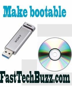 Windows 8.1,7 bootable DVD
