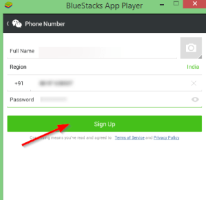 activate wechat for windows 8.1