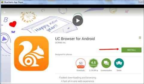 install uc browser windows 10