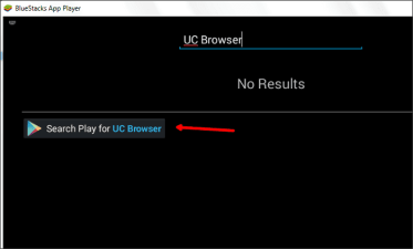 uc browser bluestacks