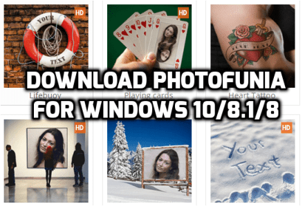 download and install PhotoFunia for PC for free