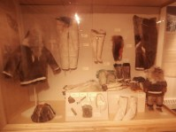 Traditional Inupiat clothing at the museum